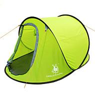 GAZELLE OUTDOORS 2 Personen Zelt Einzeln Camping Zelt Einzimmer Pop-up-Zelt Wasserdicht Windundurchlässig UV-resistant Klappbar für