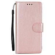 Til Samsung Galaxy S8 plus s8 telefon taske pu læder materiale fast farve telefon sag s7 kant s7 s6 kant s6 s5