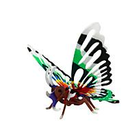 Puzzle Zestaw DIY Zabawki 3D Cegiełki DIY Zabawki Zwierzęta Motyl