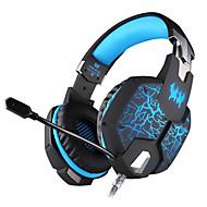 KOTION EACH G1100 Pannebånd Med ledning Hodetelefoner dynamisk Gaming øretelefon Med mikrofon Selvlysende Headset