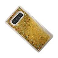 til dækslet dækker flydende bagcover cover glitter shine soft tpu til samsung note 8