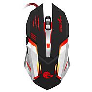 professionele bekabelde gaming muis 5500dpi verstelbare 6 knoppen kabel usb optische gamer muis muizen voor pc computer laptop