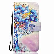 voor case cover kaarthouder portemonnee met standaard flip magnetisch patroon full body case boom hard pu leer voor Samsung Galaxy J7