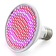 8W E26/E27 LED-kweeklampen 200 SMD 3528 800-850 lm Rood Blauw V 1 stuks