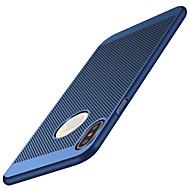 Käyttötarkoitus iPhone X iPhone 8 iPhone 8 Plus kotelot kuoret Ultraohut Himmeä Takakuori Etui Yhtenäinen väri Kova PC varten Apple