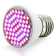 4W E27 LED Büyüyen Işıklar 60 SMD 3528 1500-1800 lm Kırmızı Mavi V 1 parça