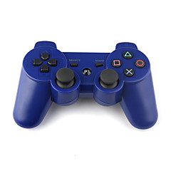 recargable mando inalámbrico USB para PlayStation 3/ps3 (azul)