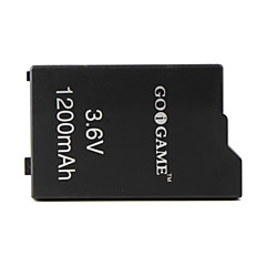 3.6v 1200mAh Battery Pack for PSP (Black)