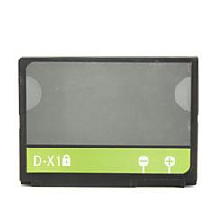 1400mAh sostituzione delle cellule batterie del telefono D-X1 per BlackBerry 8900/9500/9520/9530/9630