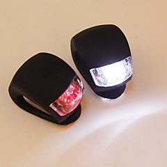 Fiets lamp fiets siliconen staart kikker licht (willekeurige kleur)