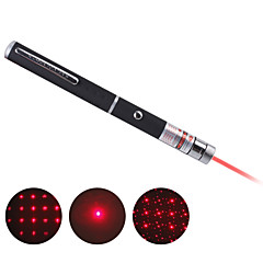 stylo multi-point étoile rouge pointeur laser (y compris 2 piles AAA)