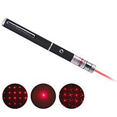 flera punkter röd stjärna laserpekare penna (inkluderar 2 AAA-batterier)