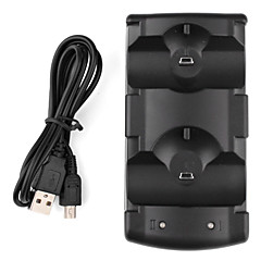 mini Dual Charging Dock voor de ps3