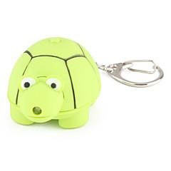 trousseau tortue avec une lampe de poche à DEL et des effets sonores