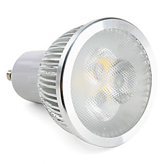 GU10 LED Spotlight MR16 3 High Power LED 310 lm Warm White Dimmable AC 220-240 V