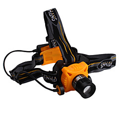 super luminoso 3-mode CREE XR-E Q5 500 lumen impermeabile fari zoom con cree led (3xAA)