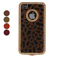 Leopard Skin Styled Protective Case for iPhone 4 and 4S (Assorted Colors)