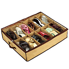 Transparent 12 Compartment Shoe Storage Bag