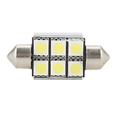 36mm 6 SMD super wit 5500K LED-lamp