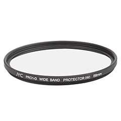 véritable JYC super mince haute performance à large bande filtre protecteur 58mm