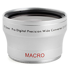 profesional de 40.5mm 0.45x gran angular y macro objetivo de conversión