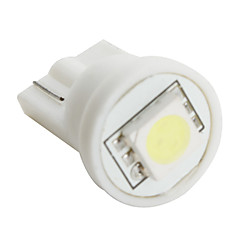 T10 5050 SMD LED White Light Bulb for Car (DC 12V, Set of 10 pcs)