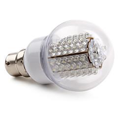 E14 / B22 Lampadine globo LED A60(A19) 78 LED ad alta intesità 210 lm Bianco AC 220-240 V