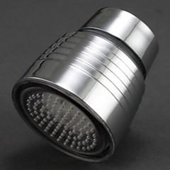koele kleur veranderen chroom afwerking onder leiding kraan uitloop licht (man, 2 adapters)
