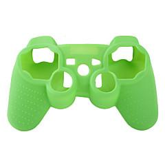 PS3 컨트롤러 (녹색)에 대한 보호 실리콘 케이스