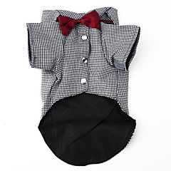 PethingTM Smart Bowtie Style Shirt for Dogs (XS-XL)