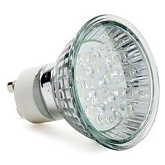 GU10 Focos LED MR16 15 LED de Alta Potencia 40 lm Blanco Natural AC 100-240 V