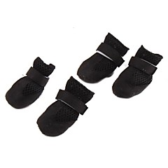 Socks & Boots for Dogs Black Spring/Fall XS / S / M / L / XL Nylon