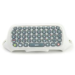Tastiera Messenger per Xbox 360 Controller (bianco)