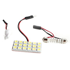 High-performance T10/31-41mm 18*5050 SMD White LED Car Signal Light