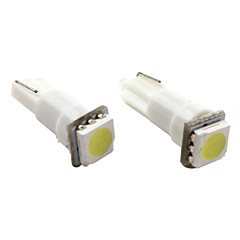 T5 1*5050 SMD White LED Car Signal Light