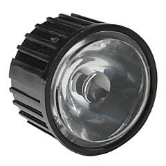 20mm 25 ° optisk glass med ramme for lommelykt, spot lys