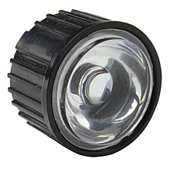 20mm 90 ° optisk glass med ramme for lommelykt, spot lys