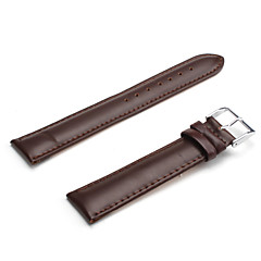 Unisex Genuine Leather Watch Strap 22MM(Brown)