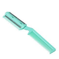Hair Trimmer Comb for Pets (Green,4 Blade Included)