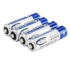 1.2V 3000mAh NH-AA Rechargeable Battery (Blue)