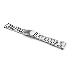 Men's Women's Watch Bands Stainless Steel #(0.072) #(17.7 x 2 x 0.4) Watch Accessories