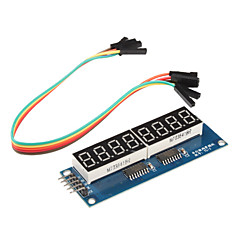 8 x modulo display a sette segmenti per (per arduino) (driver 595)