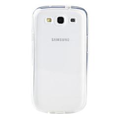 Για Samsung Galaxy Θήκη Διαφανής tok Πίσω Κάλυμμα tok Μονόχρωμη TPU Samsung S3