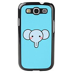 Cartoon stil Elephant Pattern Hard Case for Samsung Galaxy S3 I9300
