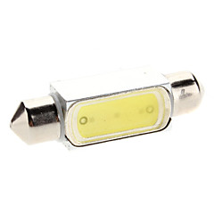 39mm 1.5W 100-120LM White Light LED-Lampe für Auto Instrument / Leselampe (12V)