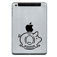Schwein-Entwurf Schutz Aufkleber für iPad Mini