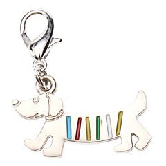 katten / honden Tags Regenboog Zilver Metaal