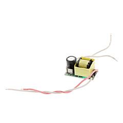 DIY 6-10W LED de encendido del controlador de alimentación (85-265V)