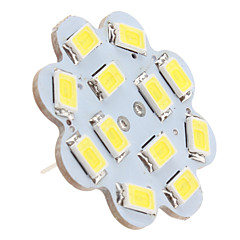 6W G4 Luces de Techo 12 SMD 5630 560 lm Blanco Natural DC 12 V