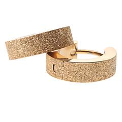 Ring oorbellen Roestvast staal Legering Gouden Sieraden Voor Feest Dagelijks